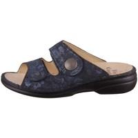 Chaussures Femme Mules Finn Comfort Sansibar Bleu marine