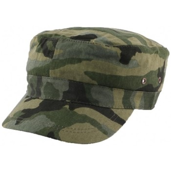 Casquettes Nyls Création Casquette Army Camouflage Vert