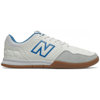 Chaussures Football New Balance Audazo v5+ Command IN White-Helium