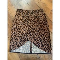 Vêtements Femme Jupes Moony Mood jupe léopard Moony Mood Marron