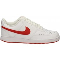 Chaussures Homme Fitness / Training Nike COURT VISION LO white-university-red