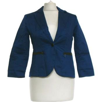 Vêtements Femme Vestes / Blazers Cache Cache Blazer  36 - T1 - S Bleu