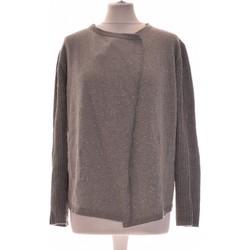 Vêtements Femme Gilets / Cardigans Galeries Lafayette Gilet Femme  34 - T0 - Xs Gris