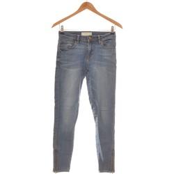 Vêtements Femme Jeans droit Mango Jean Droit Femme  34 - T0 - Xs Bleu