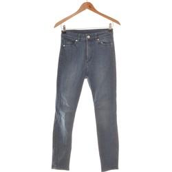Vêtements Femme Jeans droit Monki Jean Droit Femme  32 Bleu
