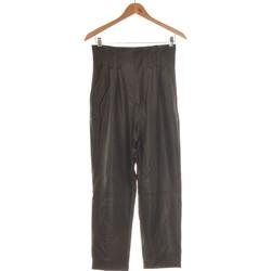 Vêtements Femme Pantalons fluides / Sarouels Stradivarius Pantalon Slim Femme  36 - T1 - S Noir