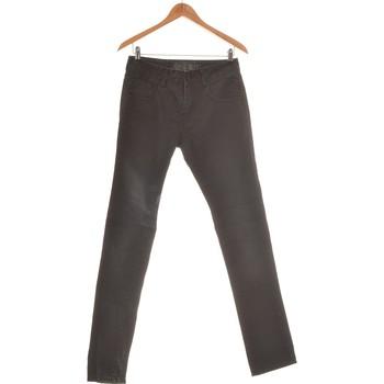 Vêtements Femme Jeans droit Creeks Jean Droit Femme  36 - T1 - S Noir