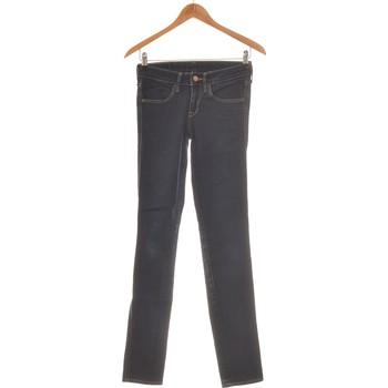 Vêtements Femme Jeans slim H&M Jean Slim Femme  34 - T0 - Xs Bleu