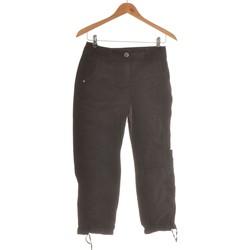 Vêtements Femme Jeans droit Camaieu Pantalon Droit Femme  36 - T1 - S Noir