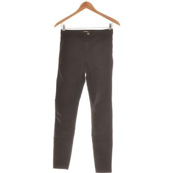 Vêtements Femme Jeans slim Bershka Pantalon Slim Femme  36 - T1 - S Noir