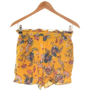 Vêtements Femme Shorts / Bermudas Stradivarius Short  36 - T1 - S Jaune