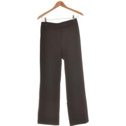 Vêtements Femme Pantalons fluides / Sarouels H&M Pantalon Bootcut Femme  36 - T1 - S Noir