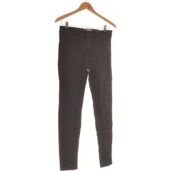 Vêtements Femme Chinos / Carrots Mango Pantalon Droit Femme  38 - T2 - M Noir