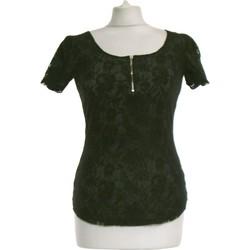 Vêtements Femme Tops / Blouses La Redoute Top Manches Courtes  36 - T1 - S Noir