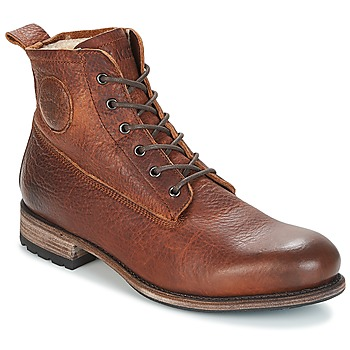 Bottines / Boots Blackstone MID LACE UP BOOT FUR Marron 350x350