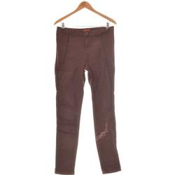 Vêtements Femme Jeans droit Derhy Jean Droit Femme  38 - T2 - M Violet