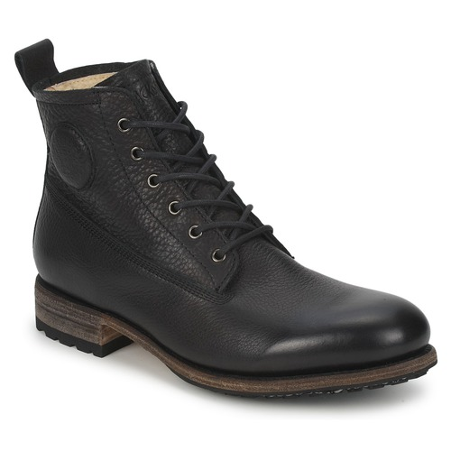 Chaussures Homme Boots Blackstone MID LACE UP BOOT FUR Noir