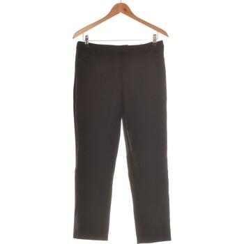 Vêtements Femme Chinos / Carrots Monoprix Pantalon Droit Femme  40 - T3 - L Noir