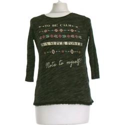 Vêtements Femme Tops / Blouses Bershka Top Manches Longues  36 - T1 - S Gris