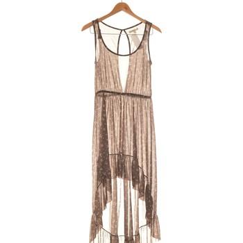 Vêtements Femme Robes longues Zara Robe Mi-longue  36 - T1 - S Gris