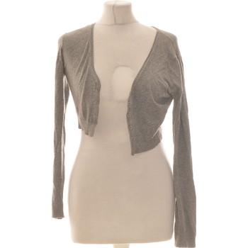 Vêtements Femme Gilets / Cardigans Galeries Lafayette Gilet Femme  38 - T2 - M Gris