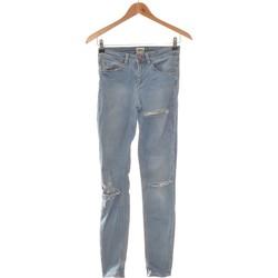Vêtements Femme Jeans droit Asos Jean Droit Femme  34 - T0 - Xs Bleu