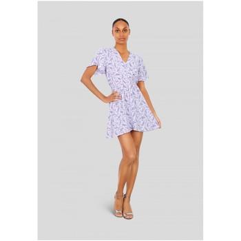 Vêtements Femme Robes courtes Kebello Robe courte Taille : F Violet S Violet