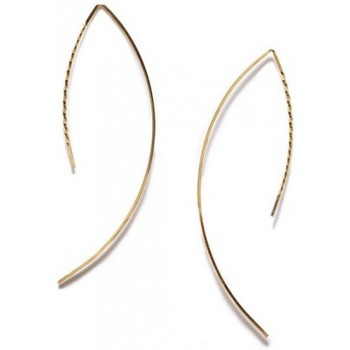 Boucles d'oreilles By Boe Boucles d'oreilles  TWISTED ARC Or 14K E14 TWISTED GF