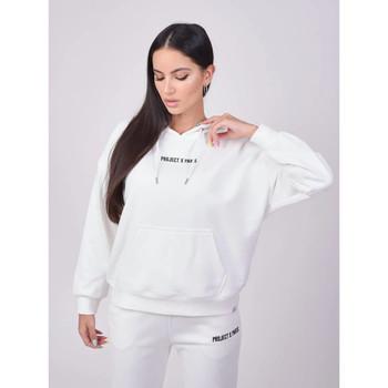 Vêtements Femme Sweats Project X Paris Hoodie Blanc