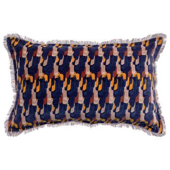 Maison & Déco Housses de coussins Vivaraise TAHIS Bleu encre