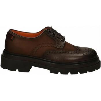 Chaussures Homme Derbies Santoni BIENNIUM dark-brown