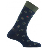 Accessoires Homme Chaussettes Kindy Mi-chaussettes jersey all over floral Marine