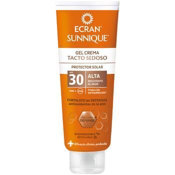 Beauté Protections solaires Ecran Sunnique Gel Crema Tacto Seda Spf30