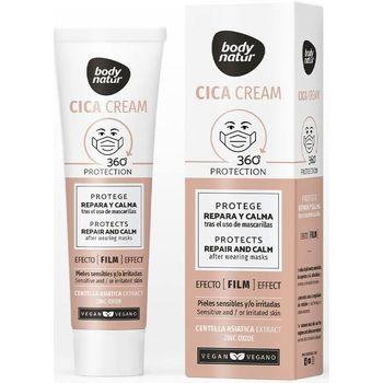 Beauté Hydratants & nourrissants Body Natur Cica Cream Protege Repara Y Calma Tras El Uso De Masque