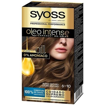 Beauté Femme Colorations Syoss Olio Intense Tinte Sin Amoniaco 6.10-rubio Oscuro