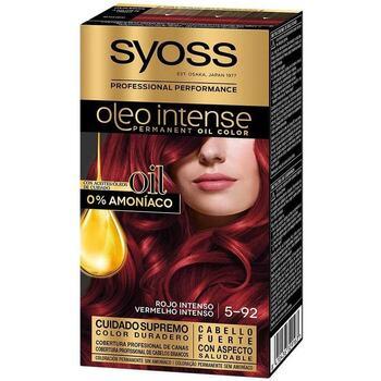 Beauté Femme Colorations Syoss Olio Intense Tinte Sin Amoniaco 5.92-rojo Intenso