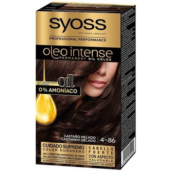 Beauté Femme Colorations Syoss Olio Intense Tinte Sin Amoniaco 4.86-castaño Helado