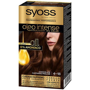Beauté Femme Colorations Syoss Olio Intense Tinte Sin Amoniaco 4.18-chocolate
