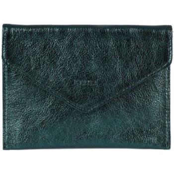 Sacs Femme Porte-Documents / Serviettes Etrier Porte-papiers Etincelle cuir ETINCELLE IRISEE 080-0EETI054 PETROLE