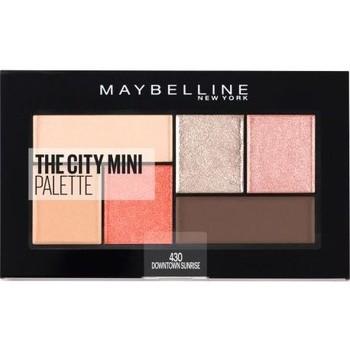 Beauté Femme Fards à paupières & bases Gemey Maybelline Maybelline - The city mini palette - 430 Downtown Sunris... Beige