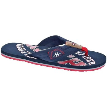 Chaussures Homme Tongs Tommy Hilfiger Essential Beach Azul