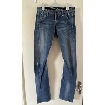 Vêtements Femme Jeans slim Guess Jean GUESS Bleu