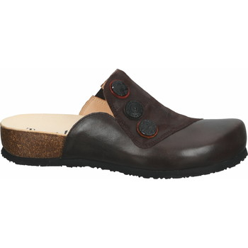 Chaussures Femme Sabots Think Mules Mocca