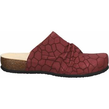 Chaussures Femme Sabots Think Mules Dunkelrot