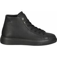 Chaussures Femme Baskets montantes Steven New York Sneaker Schwarz