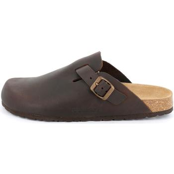 Chaussures Homme Sabots Grunland - Sabot mogano CB7034 MARRONE