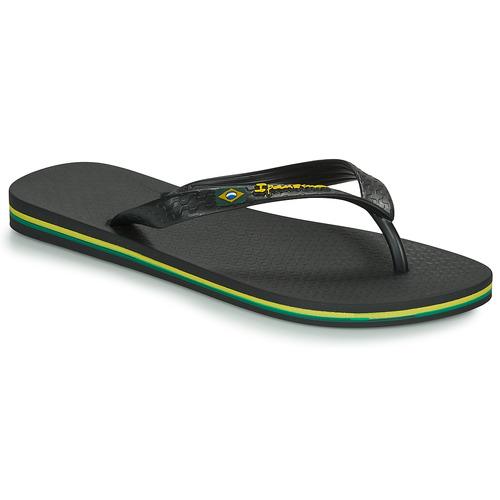 Chaussures Homme Tongs Ipanema CLASSICA BRASIL II Noir