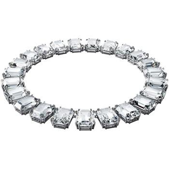 Montres & Bijoux Femme Colliers / Sautoirs Swarovski Collier  Millenia cristaux octogonaux Blanc