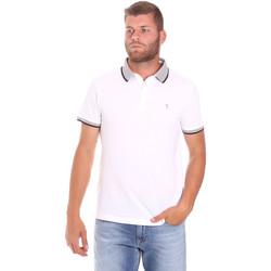 Vêtements Homme Polos manches courtes Trussardi 52T00491-1T003600 Blanc