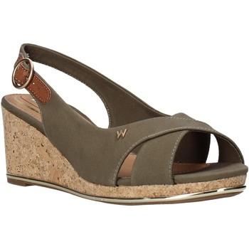 Chaussures Femme Sandales et Nu-pieds Wrangler WL01530A Vert